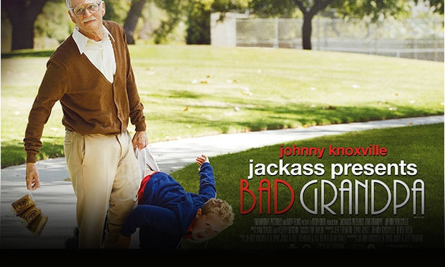 CLOSED-JACKASS PRESENTS: BAD GRANDPA giveaway-CLOSED