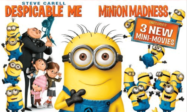 Celebrate The Holidays Minion Style With The #1 Comedy Of The Year!