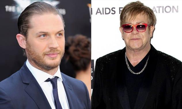 Tom Hardy Will Play Elton John In 'Rocketman'