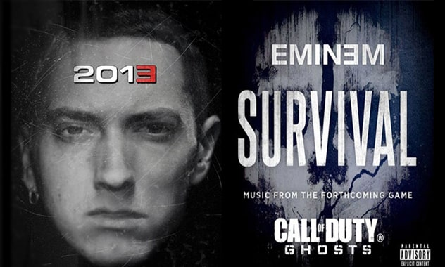 Eminem's 'Survival' Video Debuts In Support Of 'Call Of Duty:Ghosts'