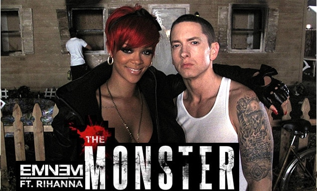 Eminem & Rihanna Team Once Again For Release Of 'The Monster'