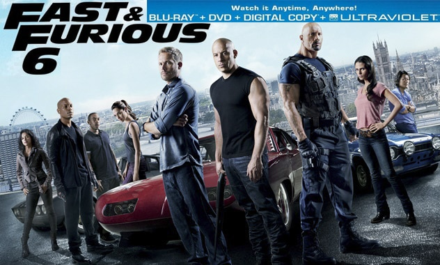 FAST & FURIOUS 6 - Release Date Announced for Blu-Ray/DVD