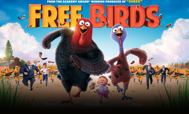 CLOSED--FREE BIRDS V.I.P. Screening Passes Giveaway Sweepstakes--CLOSED 2