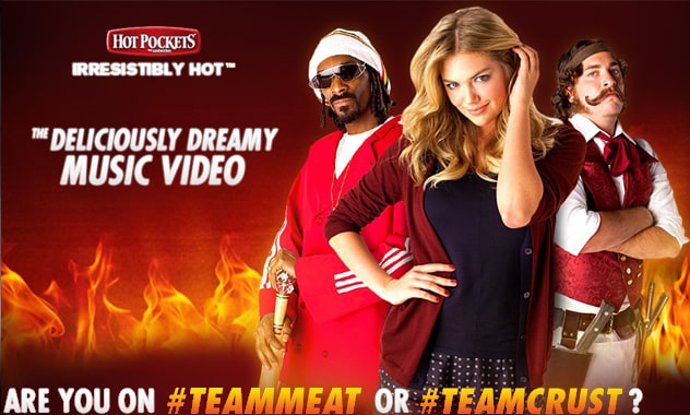 Kate Upton & Snoop Dogg Team Up In New...Hot Pockets Music Video?