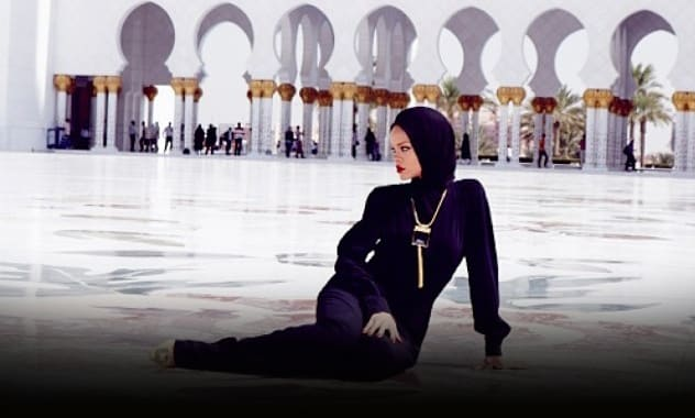 """Rihanna Asked To Leave Mosque In Abu Dhabi By Failing """"conform with the conditions and regulations"""" Of Site's Customs"""