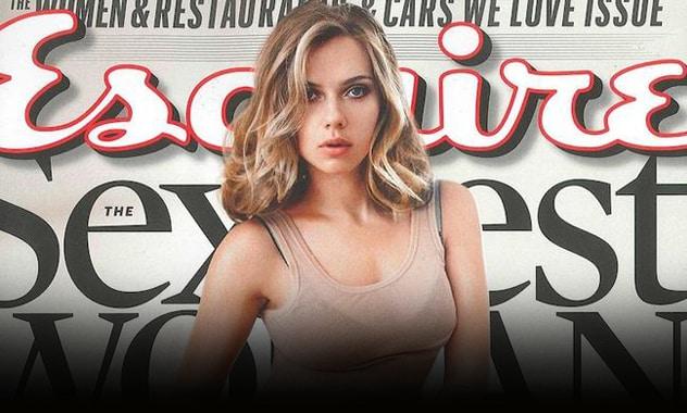 Scarlett Johansson Is Again Esquire's 'Sexiest Woman Alive' 1