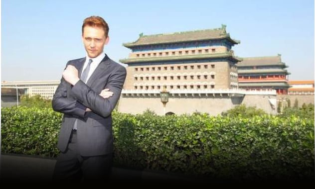 Take A Look: Tom Hiddleston's International Tour Photos For THOR: THE DARK WORLD 3