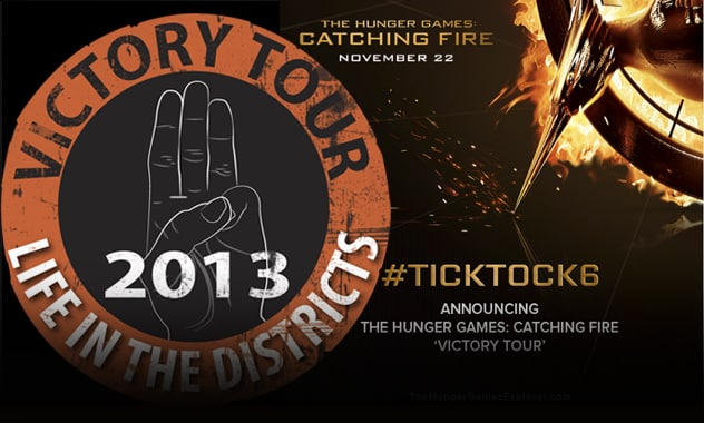 THE HUNGER GAMES: CATCHING FIRE / Talent Going on National 'Victory Tour' #TickTock6  2