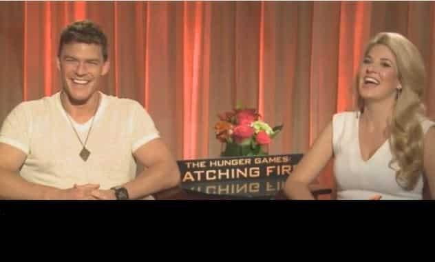 The Hunger Games: Catching Fire - Alan Ritchson & Stephanie Leigh Schlund - ZayZay.Com  3