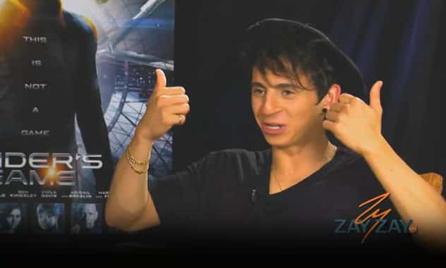 Ender's Game interview 2