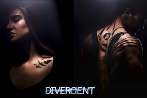 See Tris and Four kiss in the first clip from DIVERGENT!