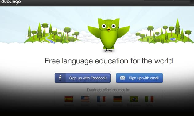Apple's choice for App of the Year is a Free 6 Language Teaching App called Duolingo 2