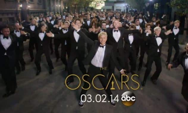 Ellen DeGeneres Reveals Her Oscar Hosting Gig In The Way She does Best, Dancing Of Course