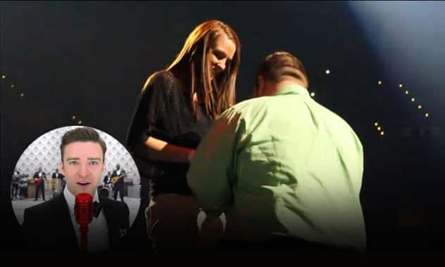 Justin Timberlake Helps Make This Proposal A Little More Memorable 2