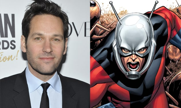 "Paul Rudd Has Been Chosen To Star In, And As, Marvel's ""Ant-Man"""