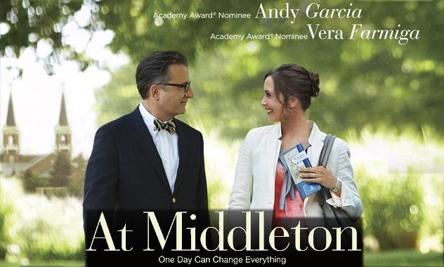AT MIDDLETON - Andy Garcia & Vera Farmiga