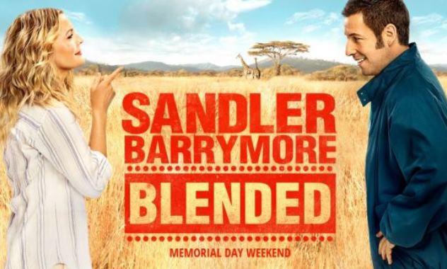 New Trailer for BLENDED Starring Adam Sandler & Drew Barrymore