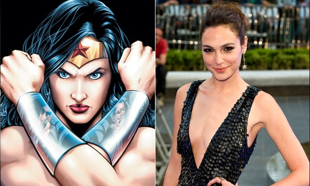 Gal Gadot Will Premeiere As Wonder Woman in the 'Batman vs. Superman' Movie 1