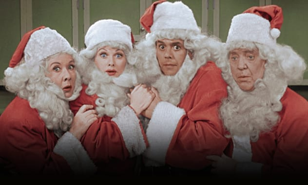 i love lucy returns with special in color christmas episodes for the holiday s - I Love Lucy Christmas Special