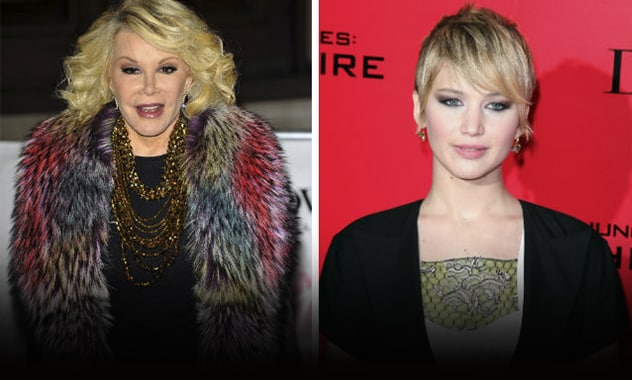 Joan Rivers And Jennifer Lawrence Probably Won't Be Bffs 2