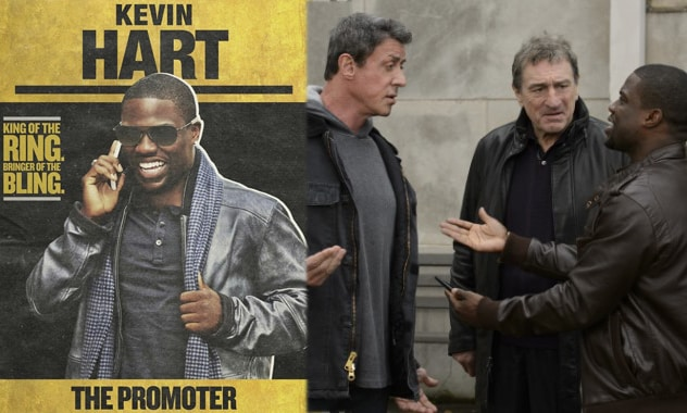 Kevin Hart stars In Grudge Match And Shows how To Promote A Fight