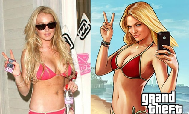 Lindsay Lohan Suing Grand Theft Auto V Makers For Using Her Likeness