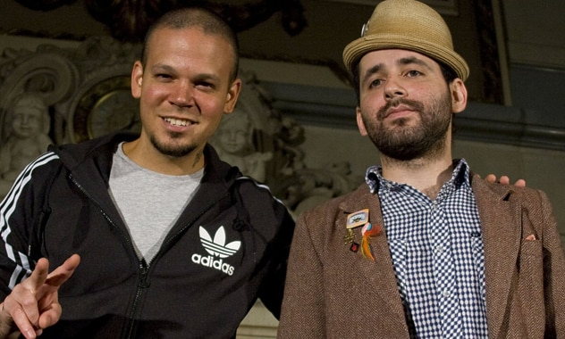 Calle 13 Shoots New Video In Palestine 2