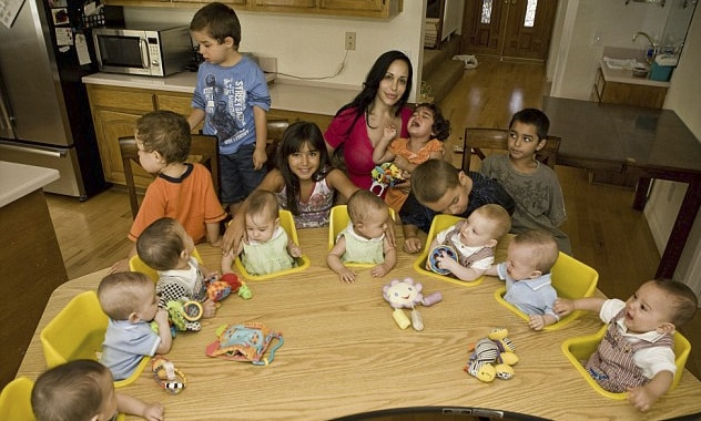 Nadya Suleman, Octomom, and 14 Kids Being Evicted