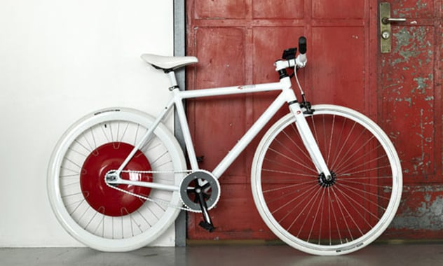 The Copenhagen Wheel Gives All Bicyclists An Extra Push 1