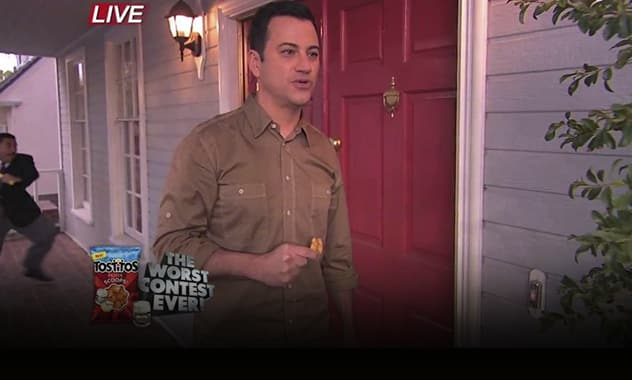 Jimmy Kimmel To Bring The Ultimate Party Experience To The 2014 Tostitos Fiesta Bowl On New Year's Day On ESPN 2