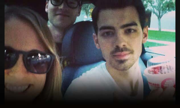 Meet Uber Luxury Pickup Driver, Joe Jonas