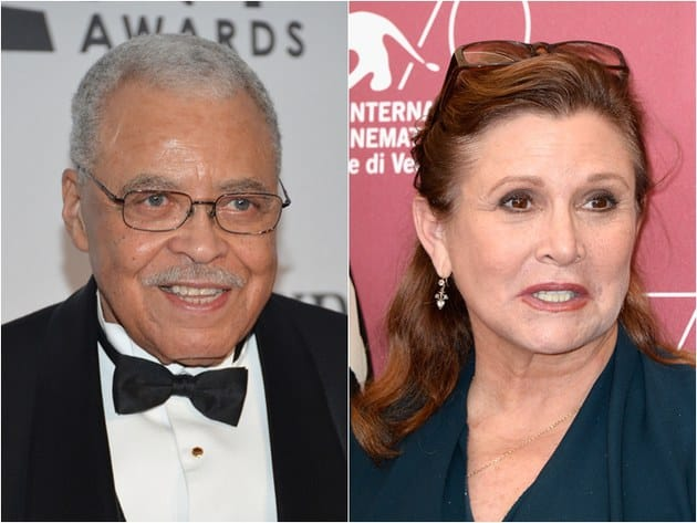 James Earl Jones and Carrie Fisher to Arrive To the Set Of Big Bang Theory