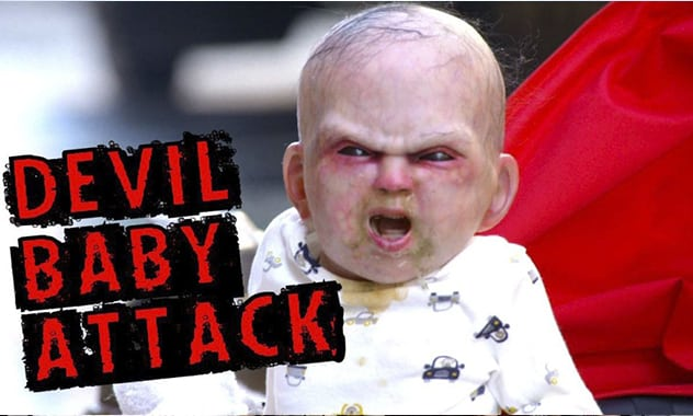 New Year? New Pranks! Devil Baby Will Haunt New Yorkers' Dreams