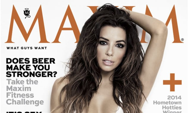 Only A Few Days In And Already Eva Longoria Named Maxim's 'Woman of the Year' 1