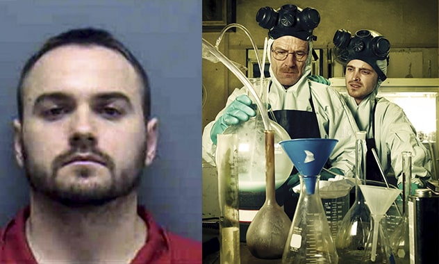 Breaking Bad Finale Winner Imitates Show, and Gets Arrested