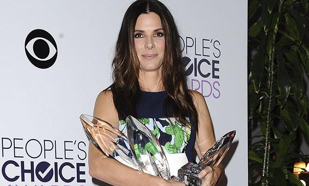 People's Choice Awards 2014 Has Sandra Bullock Earns Over A Dozen Awards