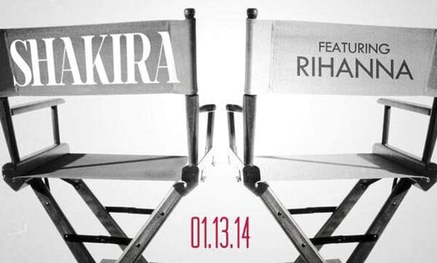Shakira Calls Rihanna For New Single, 'Can't Remember To Forget You'