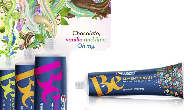 Crest Toothpaste Is Putting Mint chocolate, Lime and Vanilla Toothpastes in stores!