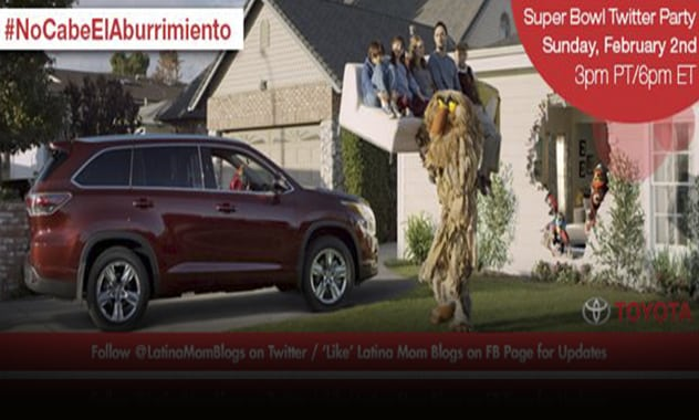 CLOSED--Join Us for Toyota Super Bowl Twitter Party and Giveaway! #NoCabeElAburrimiento--CLOSED 2