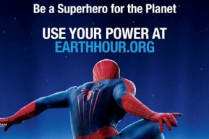 Spider-Man to be the first Super Hero ambassador for Earth Hour, the World Wide Fund for Nature global movement 2
