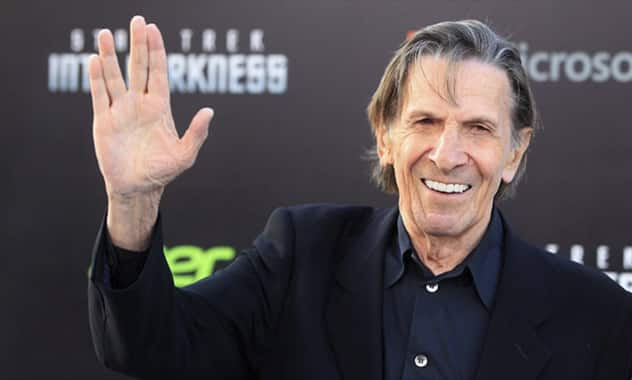 30 Years after Quitting, Leonard Nimoy Gains Smoking Related Lung Disease