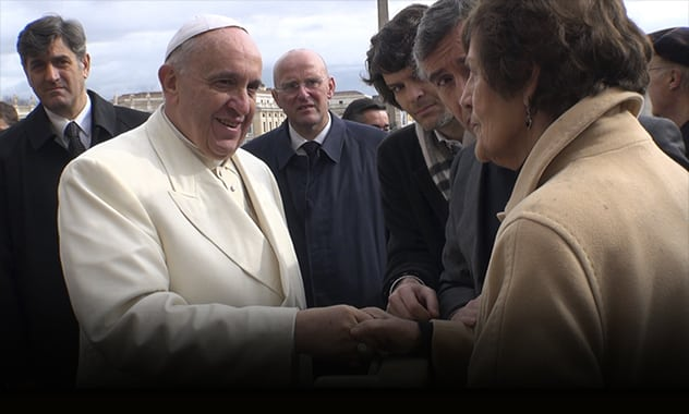 Pope Francis Meets With Philomena Lee  2