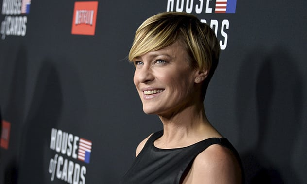 House of Cards' Actress Robin Wright Claims The Show Isn't Exaggeration