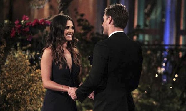Andi Dorfman Tears A New One In 'The Bachelor' Juan Pablo As She Quits The Show