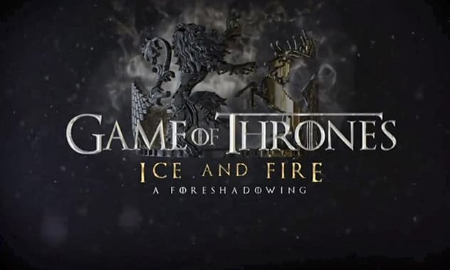 HBO premieres 'Game of Thrones Ice and Fire: A Foreshadowing' for fans as a special first look for next season