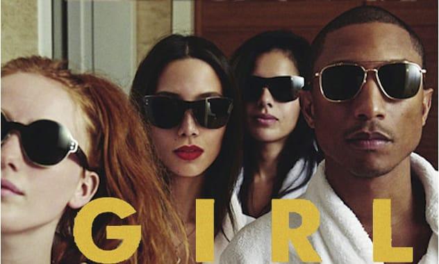 Pharrell Williams Releasing Suprising 'G I R L' Album