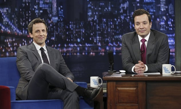 'Late Night With Seth Meyers'  Debut Tops Jimmy Fallon's