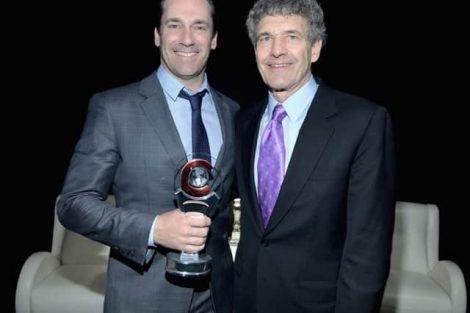 MILLION DOLLAR ARM Event At Cinemacon, Jon Hamm Award Of Excellence In Acting From Walt Disney Studios 2