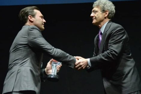 MILLION DOLLAR ARM Event At Cinemacon, Jon Hamm Award Of Excellence In Acting From Walt Disney Studios 6