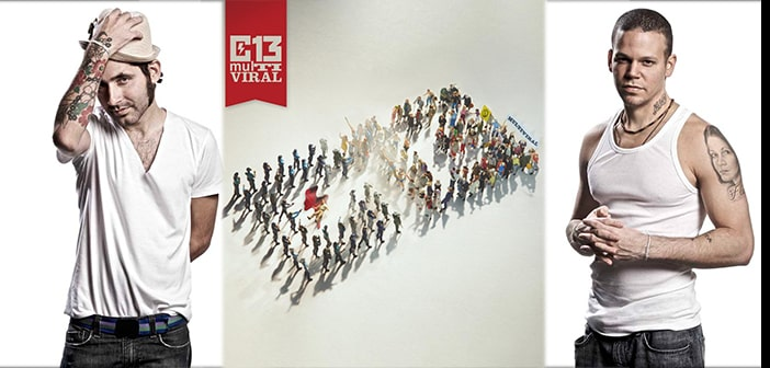 CALLE 13 Announces The First  U.S. Concert Dates Of Their MultiViral Tour! 2